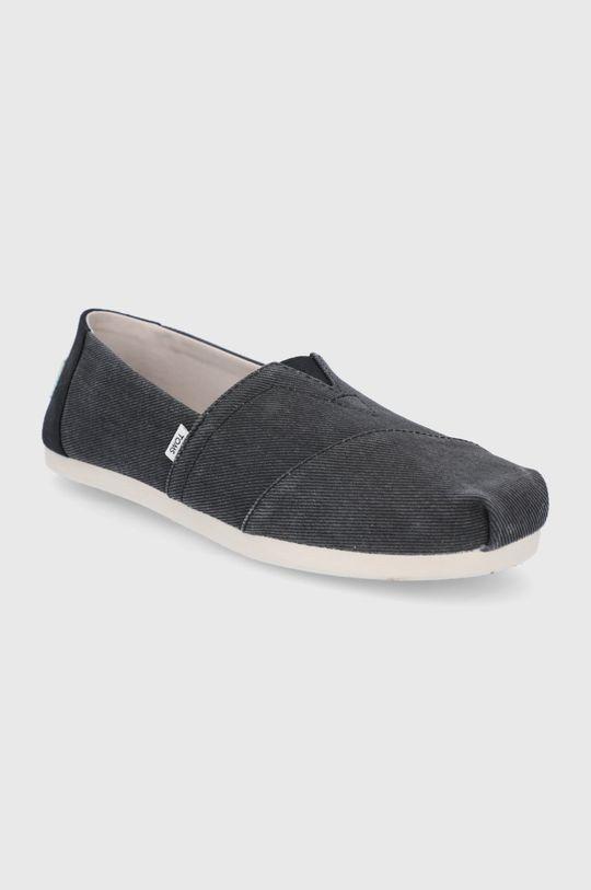 Toms - Espadryle Eco Dyed czarny