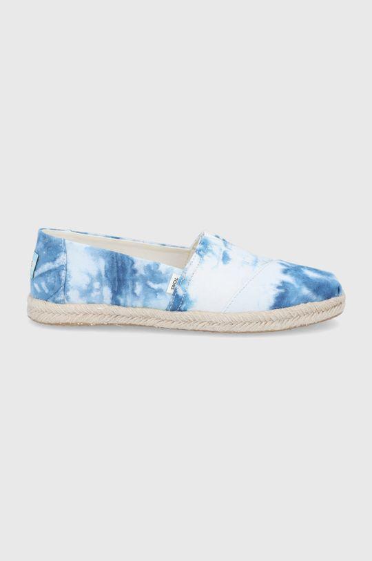 niebieski Toms - Espadryle Tie Dye Canvas Damski