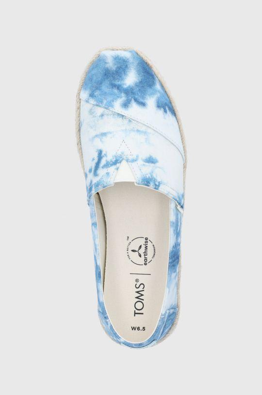 niebieski Toms - Espadryle Tie Dye Canvas