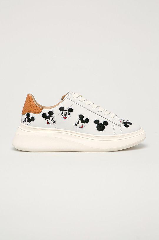 bílá MOA Concept - Kožené boty x Disney Dámský