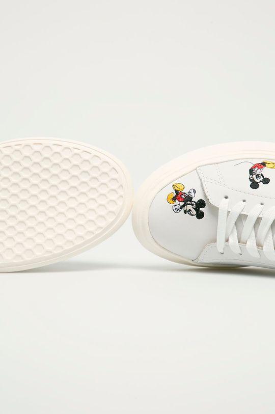 bílá MOA Concept - Kožené boty X Disney