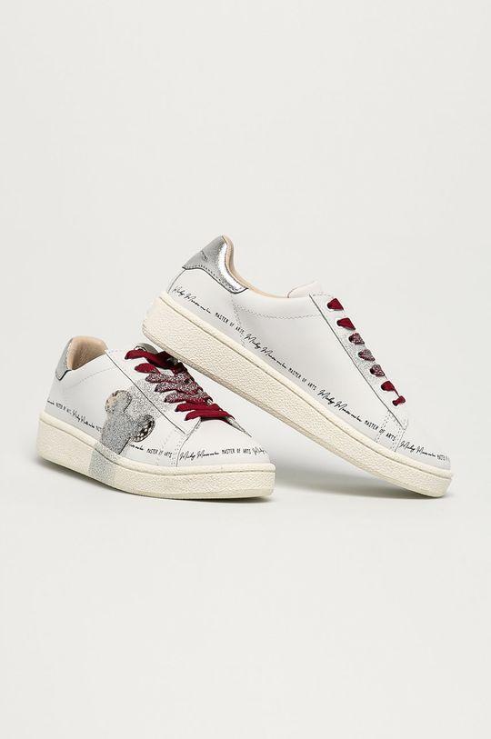 MOA Concept - Kožené boty x Disney bílá