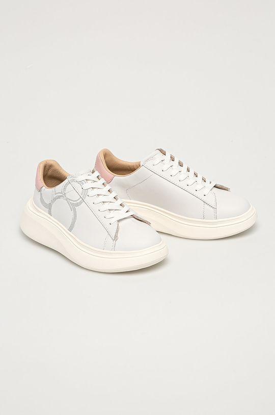 MOA Concept - Buty skórzane x Disney biały