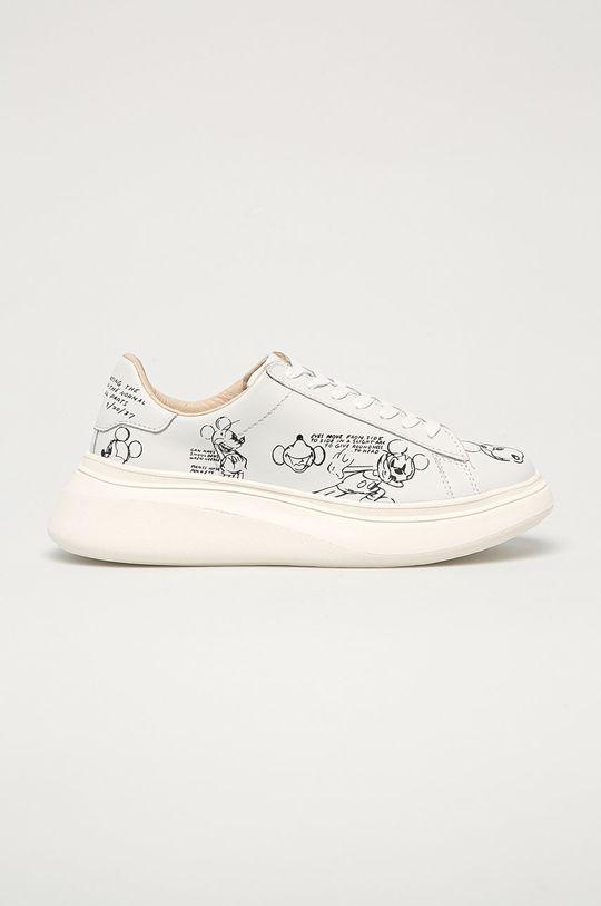 biela MOA Concept - Kožená obuv x Disney Dámsky