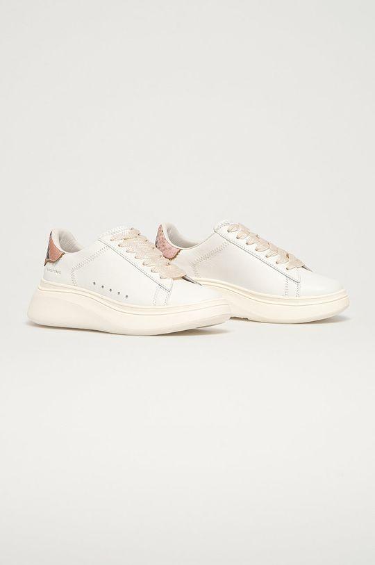 MOA Concept - Kožená obuv biela