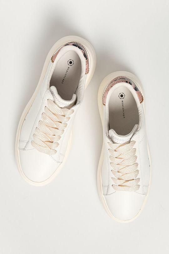 biela MOA Concept - Kožená obuv