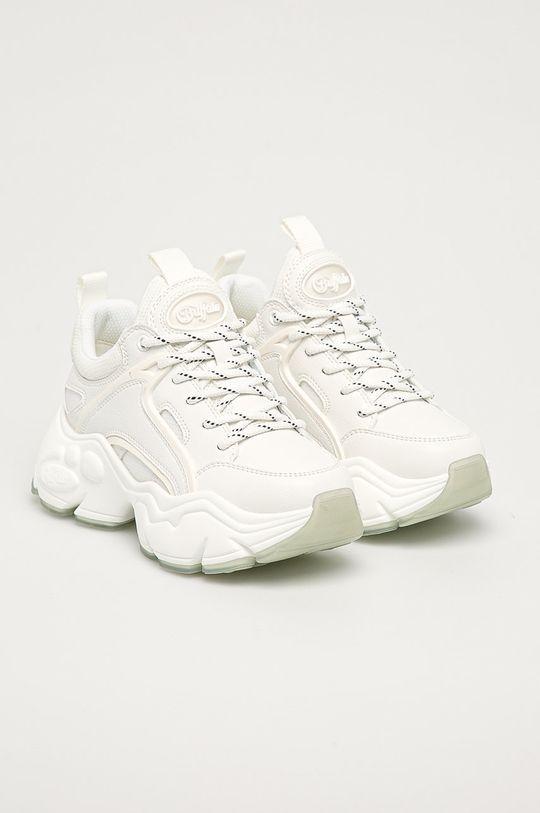 Buffalo - Topánky Binary biela
