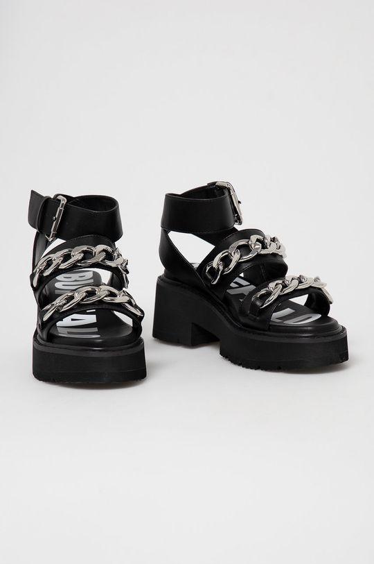 Buffalo - Sandály černá