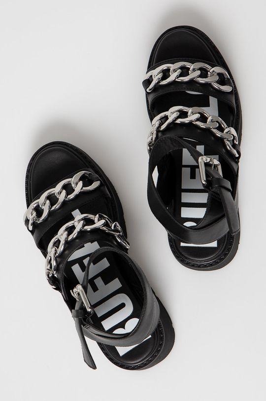 černá Buffalo - Sandály
