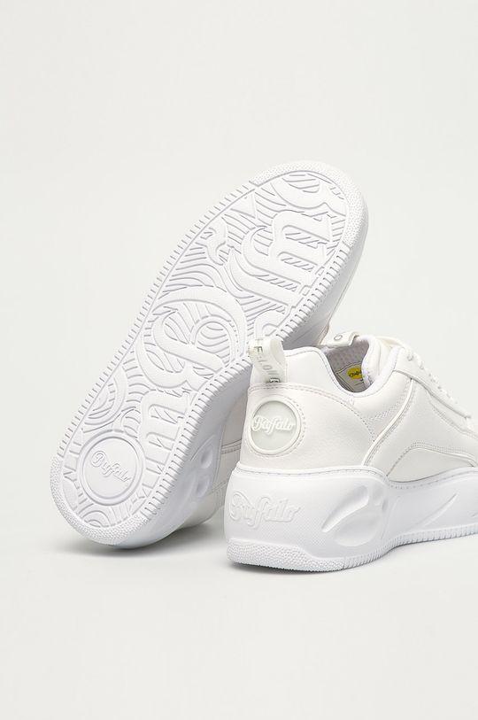 biały Buffalo - Buty Flat SMPL 2.0