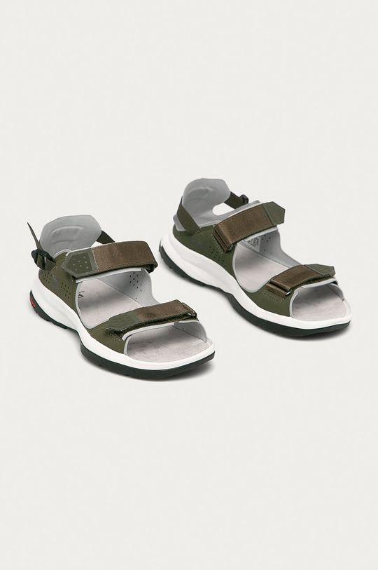 Salomon - Sandály Tech Sandal Feel olivová