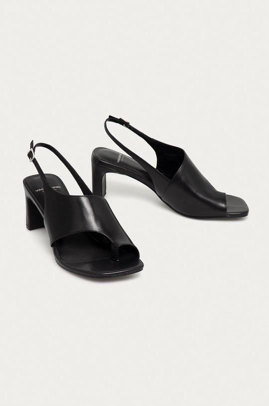 Vagabond - Kožené sandále Luisa čierna