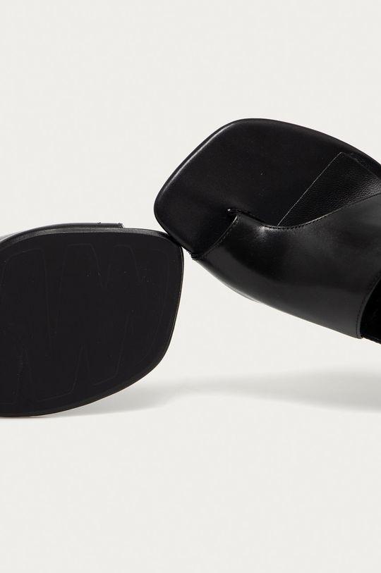 čierna Vagabond - Kožené sandále Luisa