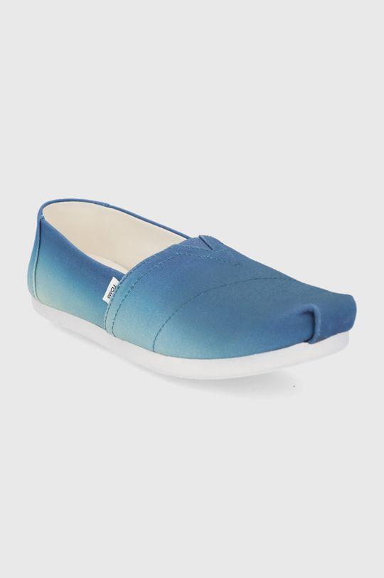 Toms - Espadrile Alpargata albastru