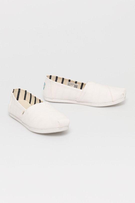 Toms - Espadryle Alpargata biały
