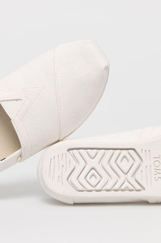 biały Toms - Espadryle Alpargata