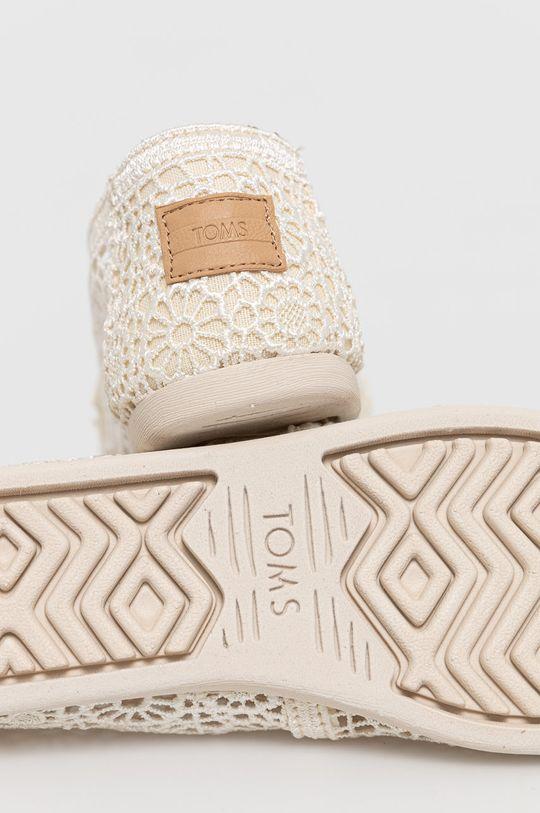 Toms - Espadrilky Alpargata  Svršek: Textilní materiál Vnitřek: Textilní materiál Podrážka: Umělá hmota