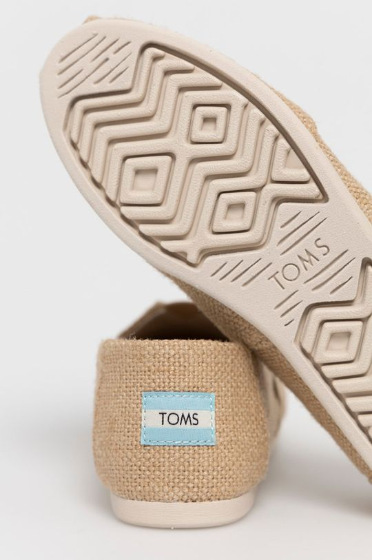 Toms - Espadryle Burlap Classic Cholewka: Materiał tekstylny, Wnętrze: Materiał tekstylny, Podeszwa: Materiał syntetyczny