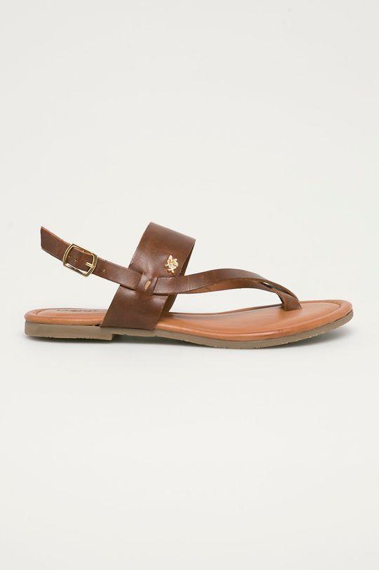 brązowy Mexx - Sandały MXOM0017W Damski