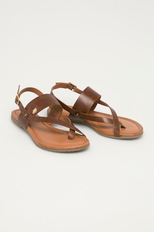 Mexx - Sandały MXOM0017W brązowy
