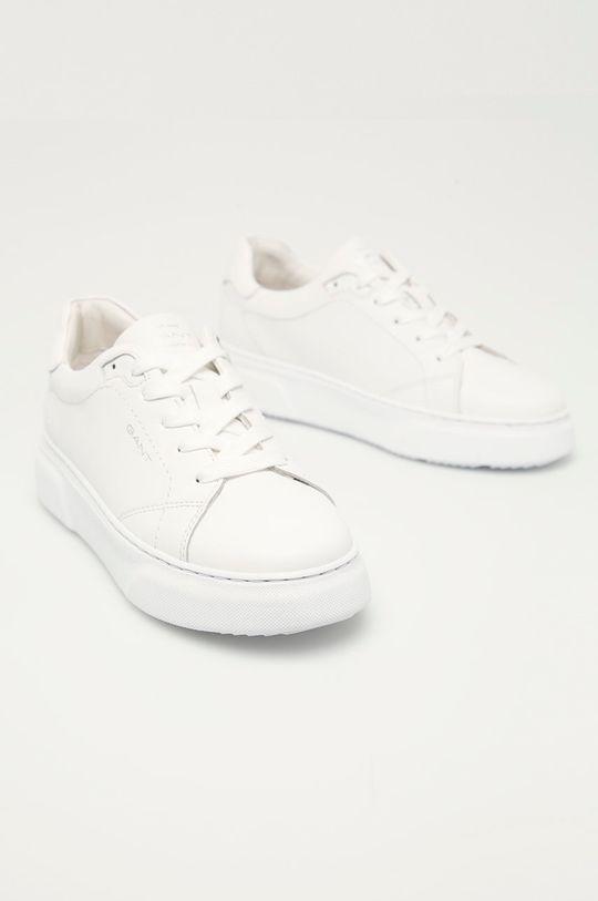 Gant - Buty skórzane biały