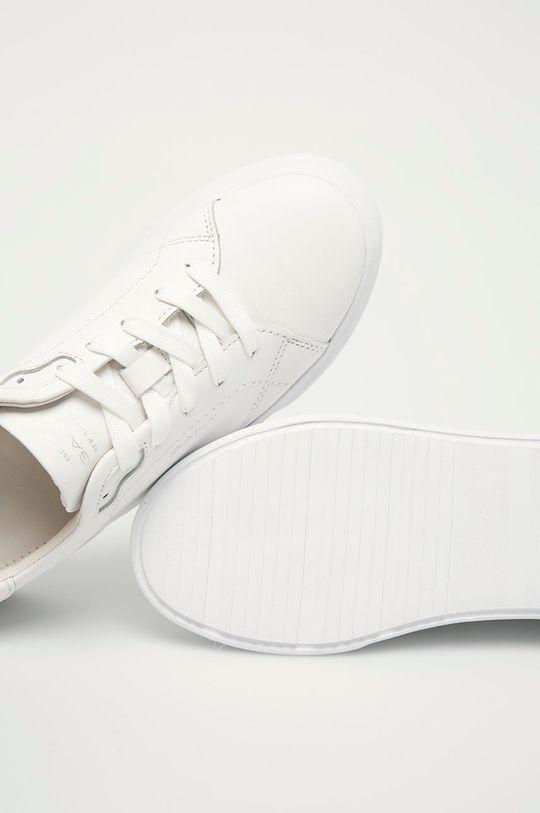 biały Gant - Buty skórzane