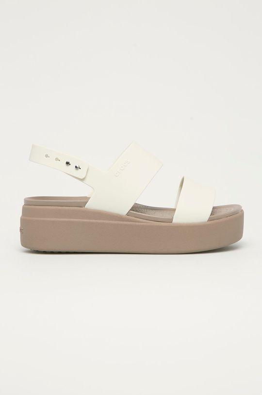 bílá Crocs - Sandály Dámský