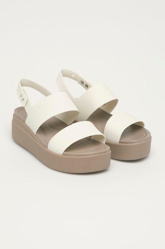 Crocs - Sandály bílá