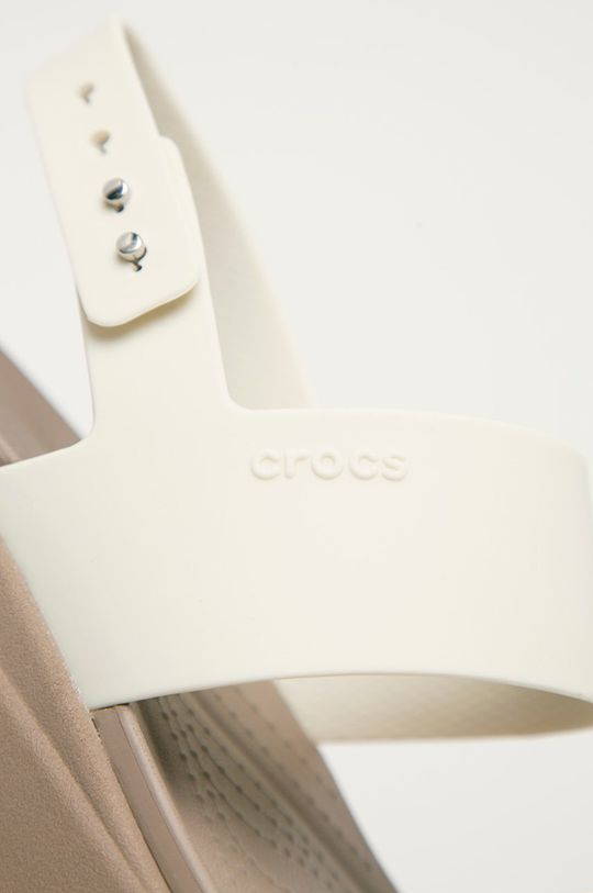bílá Crocs - Sandály