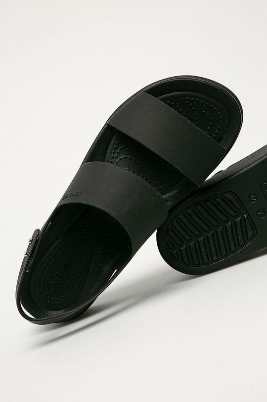 černá Crocs - Sandály