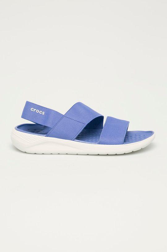 modrá Crocs - Pantofle Dámský