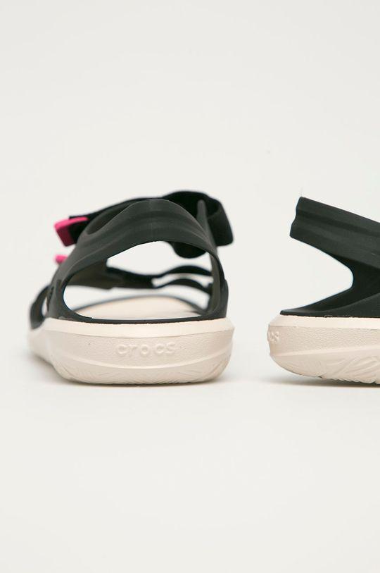 Crocs - Sandály  Svršek: Umělá hmota, Textilní materiál Vnitřek: Umělá hmota Podrážka: Umělá hmota