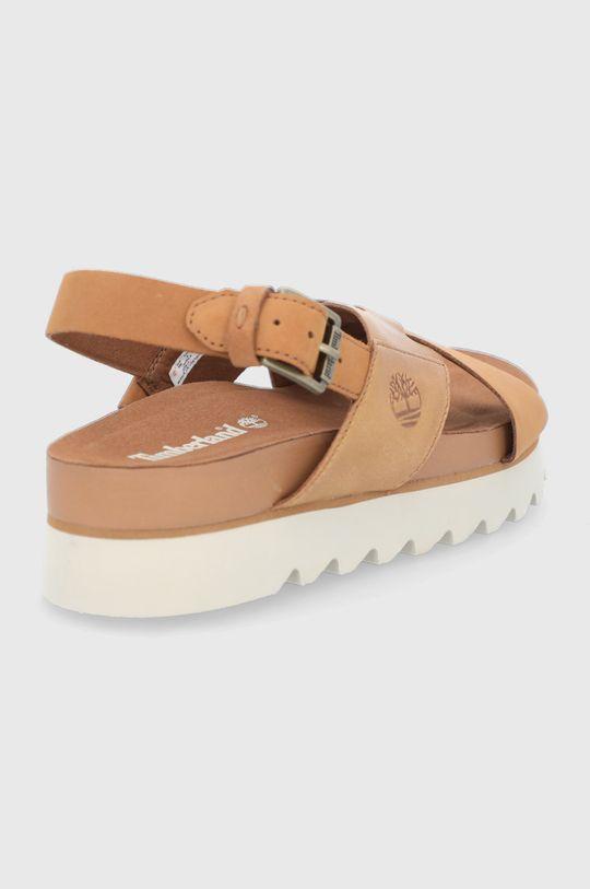 Timberland - Kožené sandály Santa Monica  Svršek: Přírodní kůže Vnitřek: Textilní materiál Podrážka: Umělá hmota