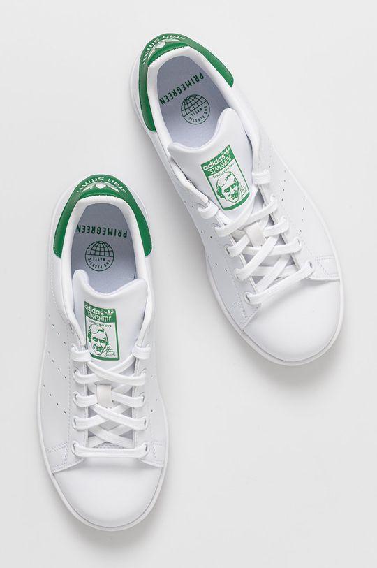 alb adidas Originals - Pantofi Stan Smith