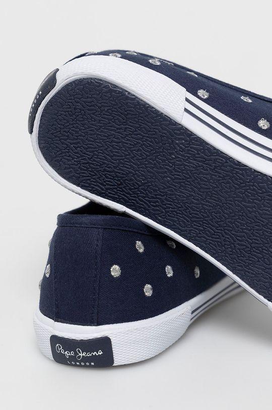 Pepe Jeans - Tenisówki Aberlady Cholewka: Materiał tekstylny, Wnętrze: Materiał tekstylny, Podeszwa: Materiał syntetyczny