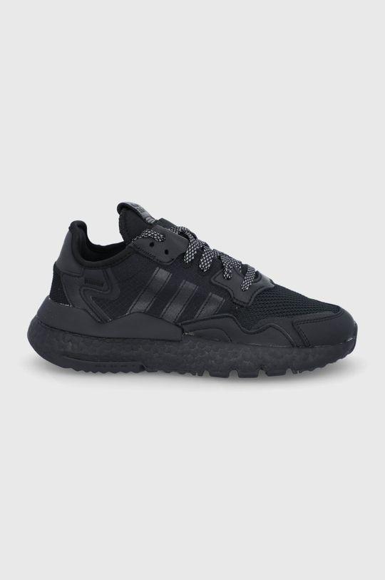 czarny adidas Originals - Buty Nite Jogger Damski