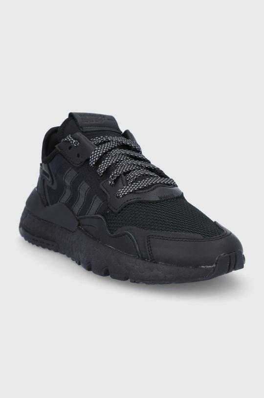 adidas Originals - Buty Nite Jogger czarny