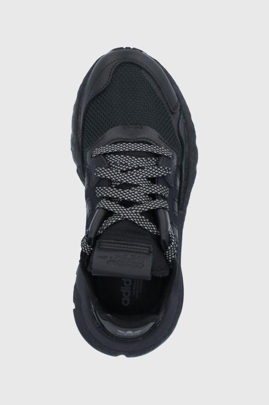 czarny adidas Originals - Buty Nite Jogger