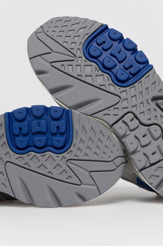 sivá adidas Originals - Topánky NITE JOGGER