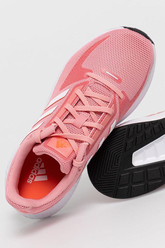 ostry różowy adidas - Buty Run Falcon 2.0