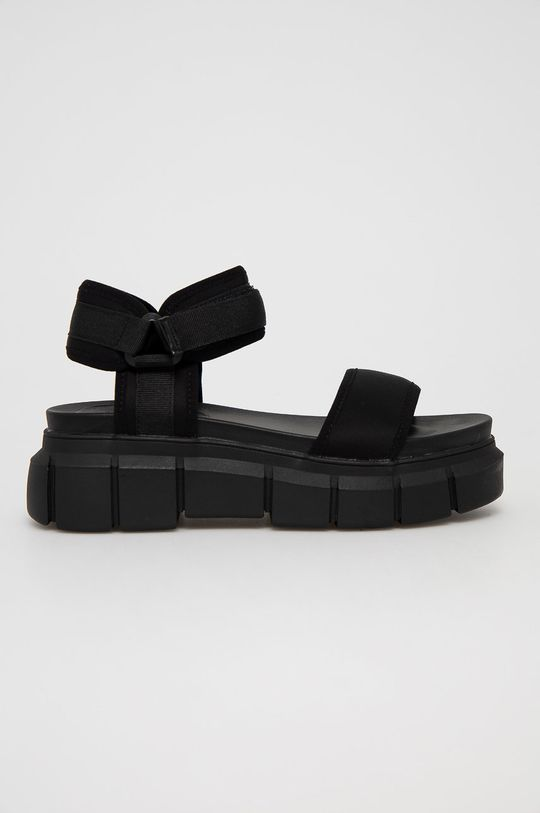 czarny Truffle Collection - Sandały Damski