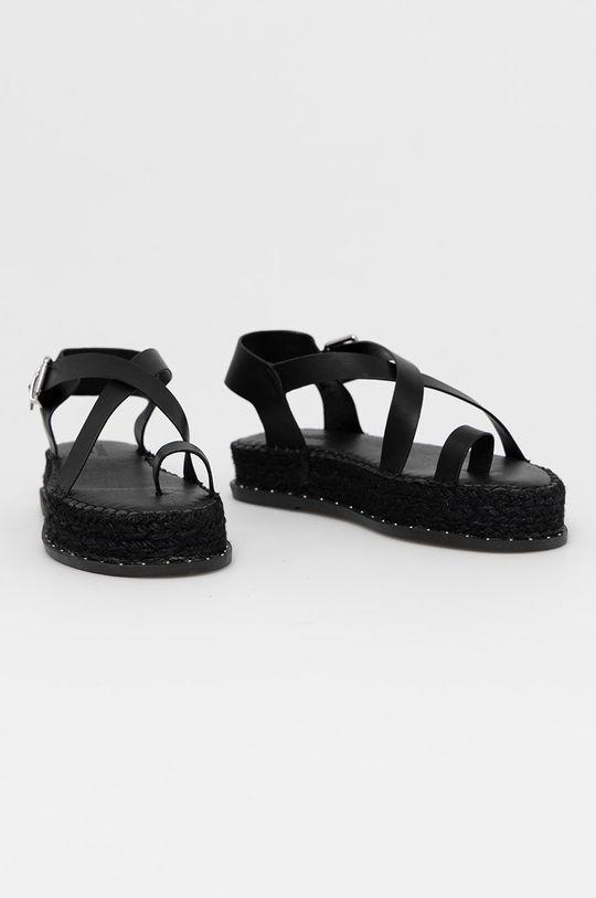 Truffle Collection - Sandały czarny