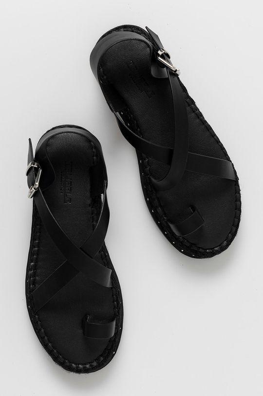 czarny Truffle Collection - Sandały
