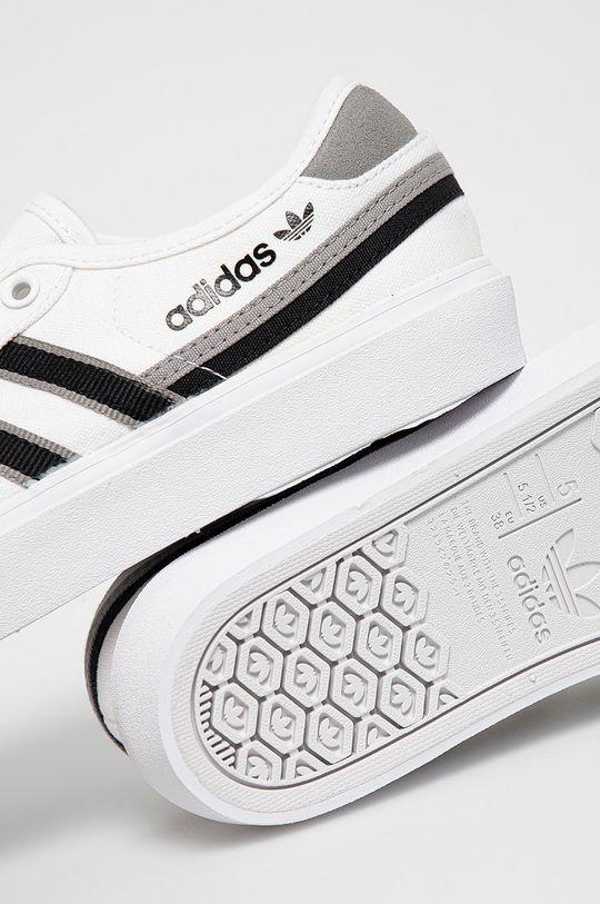 biela adidas Originals - Tenisky Delpala