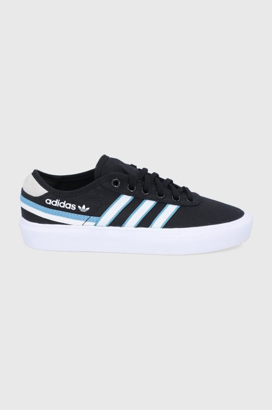 czarny adidas Originals - Tenisówki Delpala Damski