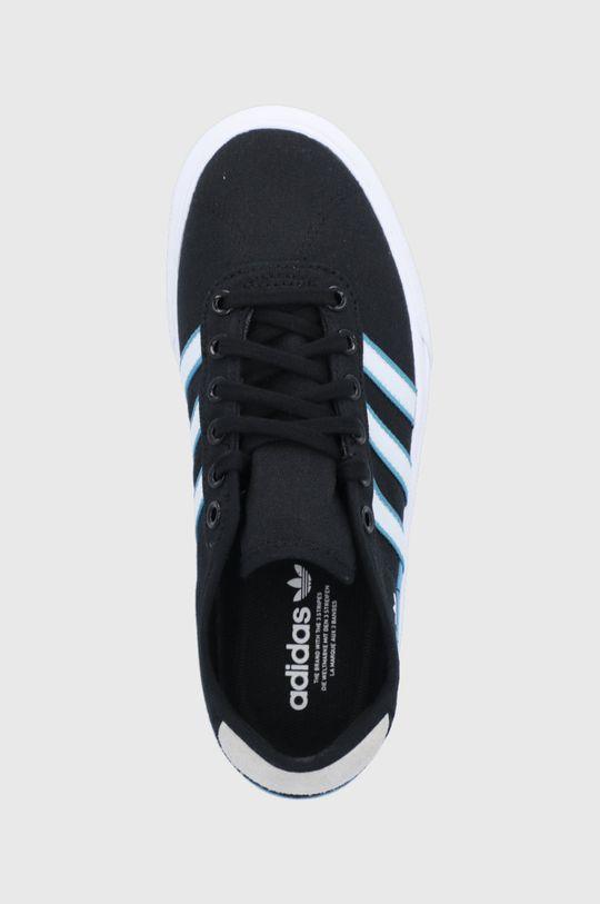 czarny adidas Originals - Tenisówki Delpala