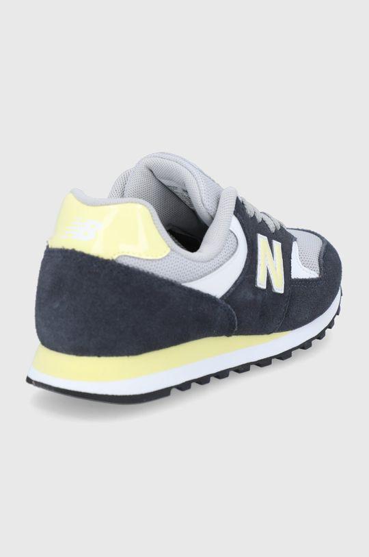 New Balance - Kožená obuv WL393VS1  Zvršok: Syntetická látka, Textil, Semišová koža Vnútro: Textil Podrážka: Syntetická látka