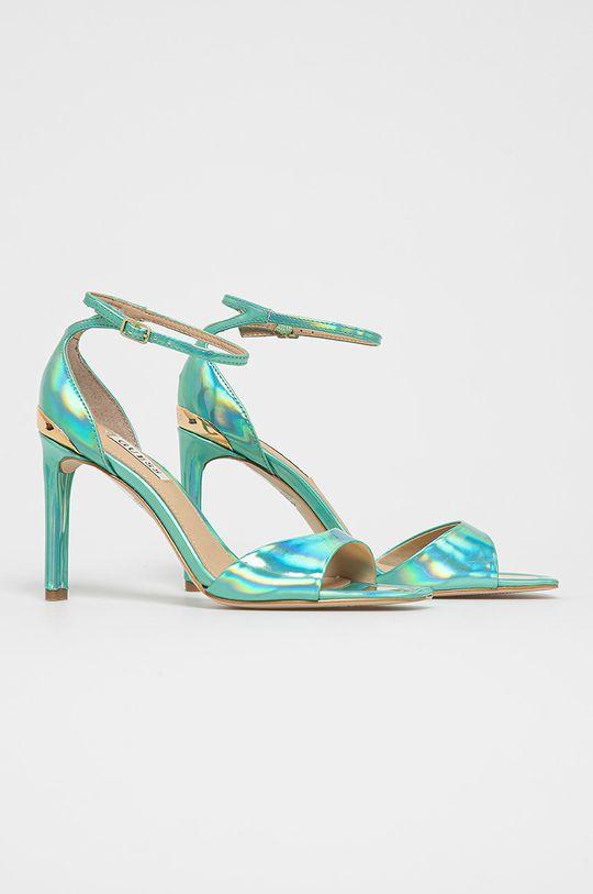 Guess - Sandály světle zelená