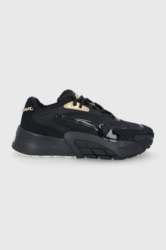 čierna Puma - Topánky Hedra Dámsky