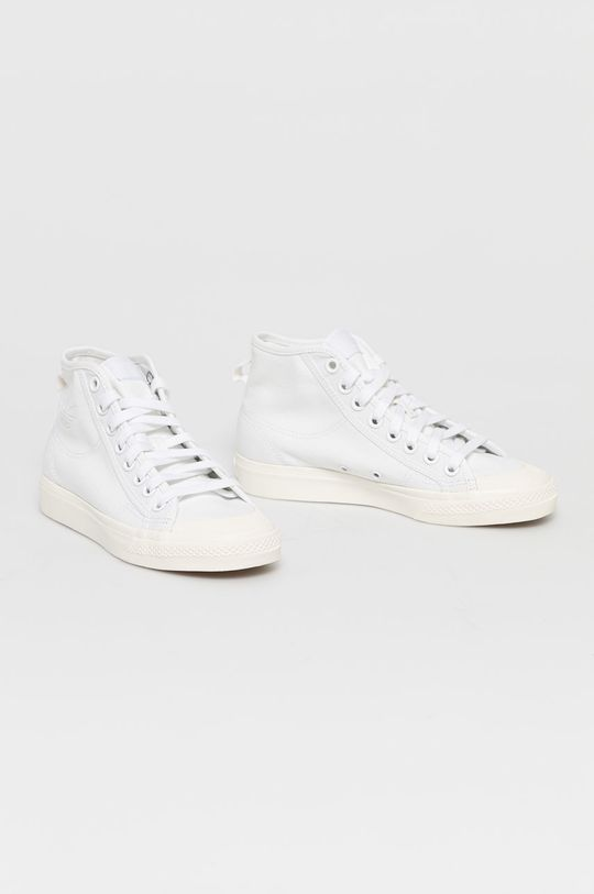 adidas Originals - Kecky Nizza Hi bílá